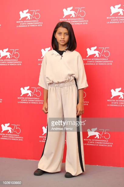 Ludovica Nasti attends 'My Brilliant Friend ' photocall during the 75th Venice Film Festival at Sala Casino on September 2 2018 in Venice Italy