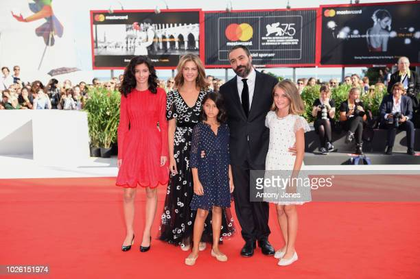 Ludovica Nasti Margherita Mazzucco Elisa Del Genio Saverio Costanzo and Gaia Girace walk the red carpet ahead of the 'My Brilliant Friend ' screening...