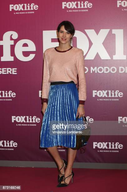 Ludovica Sauer attends Foxlife Official Night Out on November 7, 2017 in Milan, Italy.
