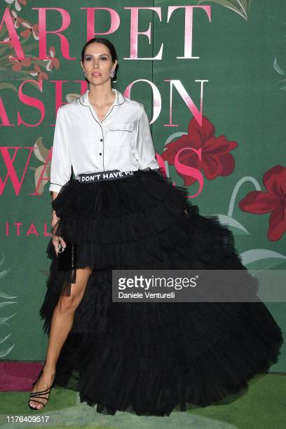 Ludovica Sauer attends the Green Carpet Fashion Awards during the Milan Fashion Week Spring/Summer 2020 on September 22, 2019 in Milan, Italy.