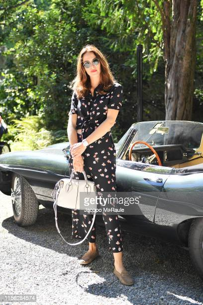 Ludovica Sauer attends the Tod's show at Milan Men's Fashion Week Spring/Summer 2020 on June 16 2019 in Milan Italy