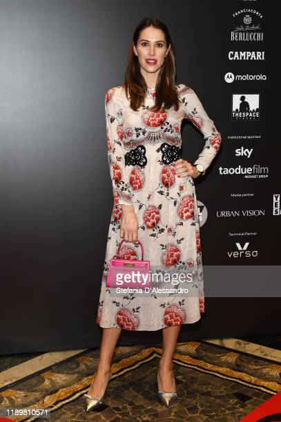 Ludovica Sauer attends the Vanity Fair Stories 2019 Awards Photocall at The Space Cinema Odeon on November 23 2019 in Milan Italy