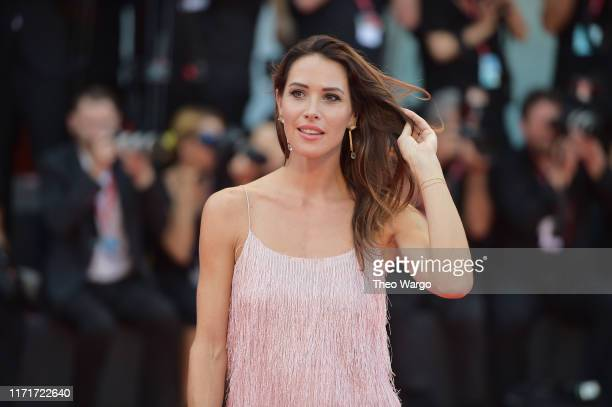 """Ludovica Sauer walks the red carpet ahead of the """"Joker"""" screening during the 76th Venice Film Festival at Sala Grande on August 31, 2019 in Venice,..."""