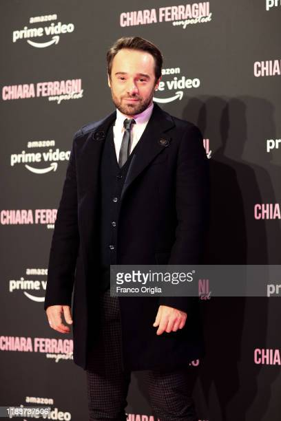Ludovico Fremont attends the premiere of the movie Chiara Ferragni Unposted on November 19 2019 in Rome Italy