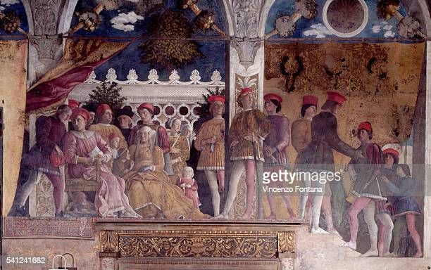 Ludovico Gonzaga His Family and Court by Andrea Mantegna
