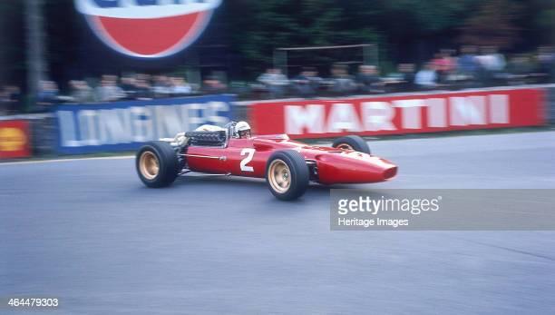 Ludovico Scarfiotti driving a Ferrari Belgian GP SpaFrancorchamps 1967 Scarfiotti the nephew of Fiat boss Gianni Agnelli was a very popular home...