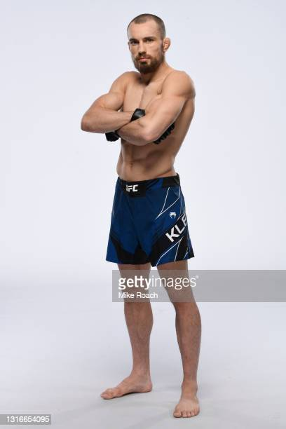 Ludovit Klein poses for a portrait during a UFC photo session on May 5, 2021 in Las Vegas, Nevada.