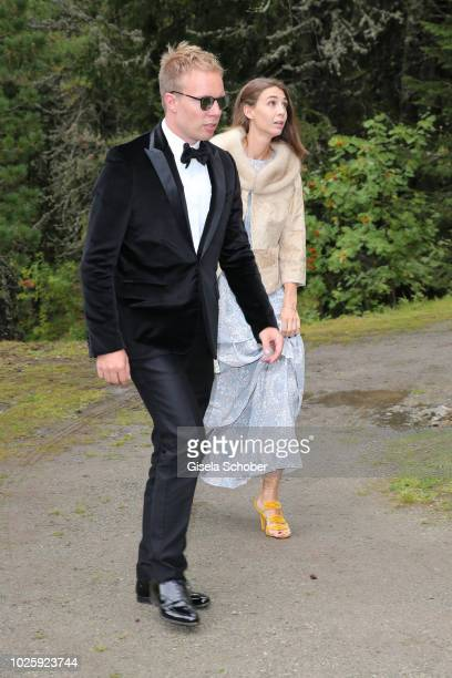 Ludvig Andersson son of ABBA Benny Andersson and his wife Mimi Schoeller Andersson during the wedding of Prince Konstantin of Bavaria and Princess...