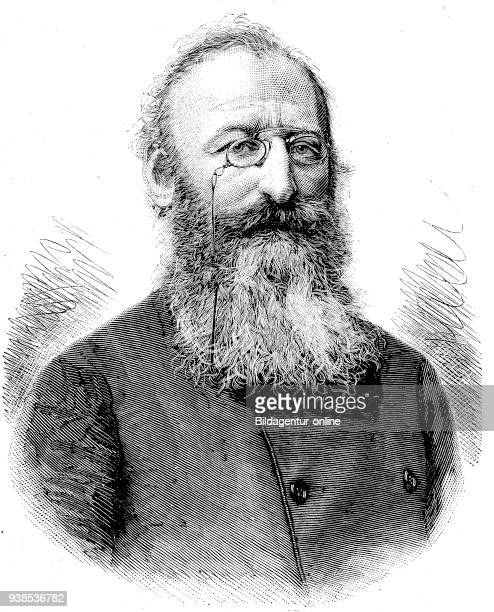 Ludwig Anzengruber, 29 November 1839 - 10 December 1889 was an Austrian dramatist, novelist and poet, hictorical illustration from 1880.
