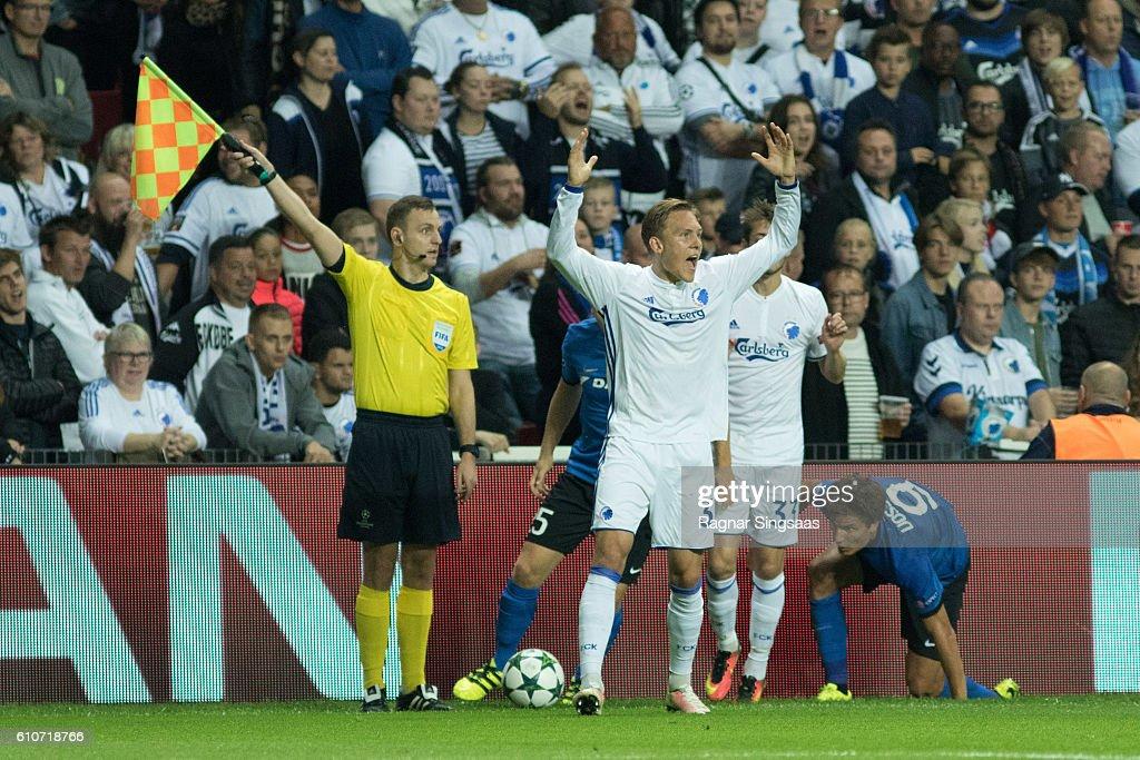 FC Copenhagen v Club Brugge KV - UEFA Champions League
