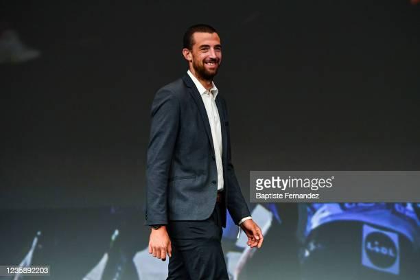 Ludwig DE WINTER during the presentation of the Tour de France 2022 at Palais des Congres on October 14, 2021 in Paris, France.