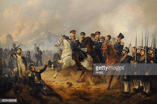 Ludwig Elsholtz German painter Marshal Blucher on the Battlefield 1841 Oil on canvas The State Hermitage Museum Saint Petersburg Russia