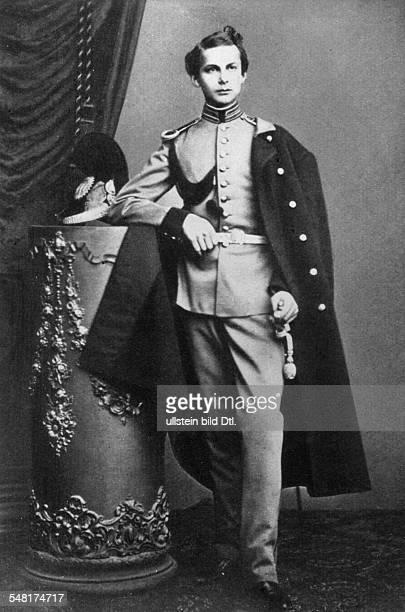 Ludwig II of Bavaria *2508184513061886 King of Bavaria as lieutenant 1861 Vintage property of ullstein bild