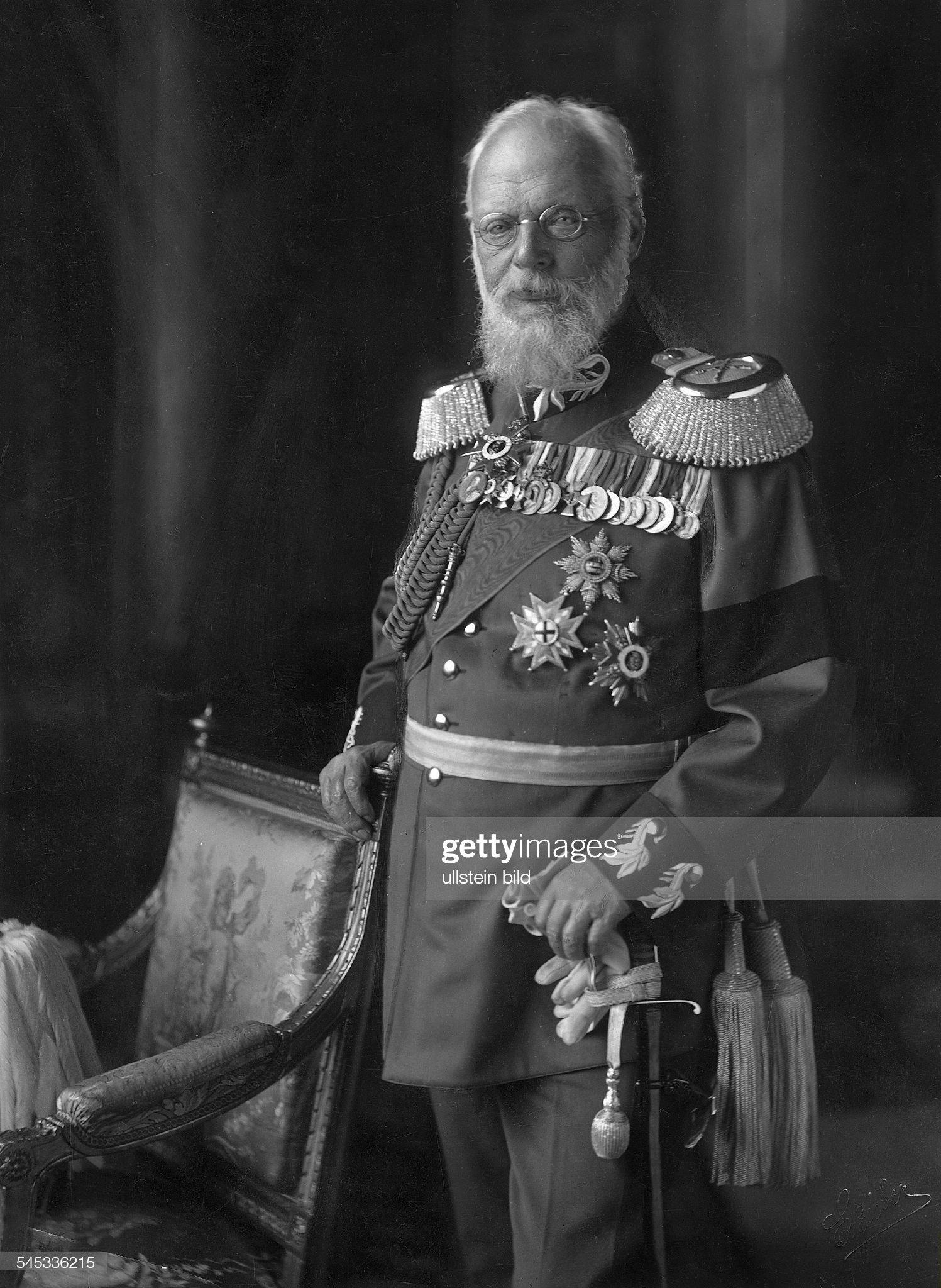 Ludwig III. König von Bayern : Nachrichtenfoto