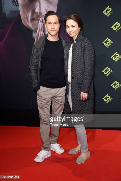 Ludwig Trepte and his wife Deborah Trepte attend the world premiere of 'Culpa' on May 9 2017 in Berlin Germany