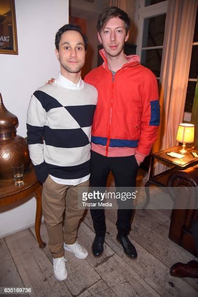 Ludwig Trepte and Max Mauff attend the Pantaflix Party At The 67th Berlinale International Film Festival on February 13, 2017 in Berlin, Germany.