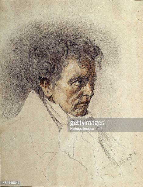 Ludwig van Beethoven Found in the collection of the State Art Museum of the Kyrgyz Republic Bishkek