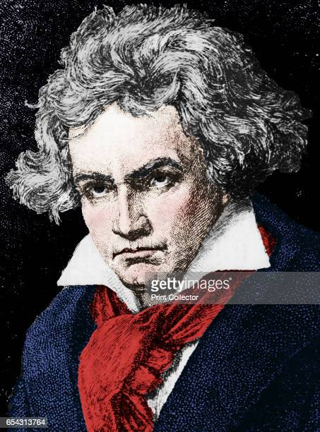 Ludwig van Beethoven German composer and pianist 19th century Artist Unknown