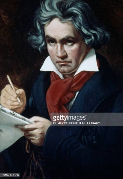 Ludwig van Beethoven German composer and pianist portrait by Joseph Karl Stieler