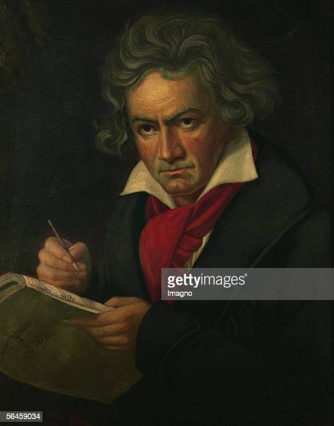 Ludwig van Beethoven Oil on canvas [Ludwig van Beethoven oelLw ]