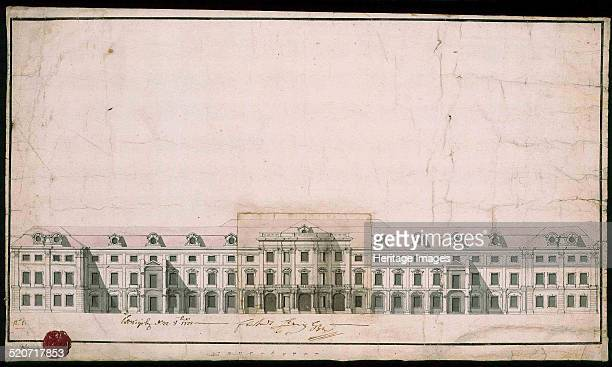 Ludwigsburg Palace Facade design of the north wing Found in the collection of Landesarchiv BadenWürttemberg Hauptstaatsarchiv Stuttgart