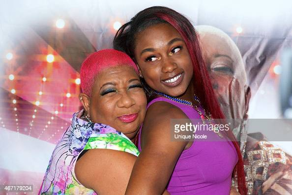 Luenell And Daughter Da Nelle Attend Luenell S Red Carpet
