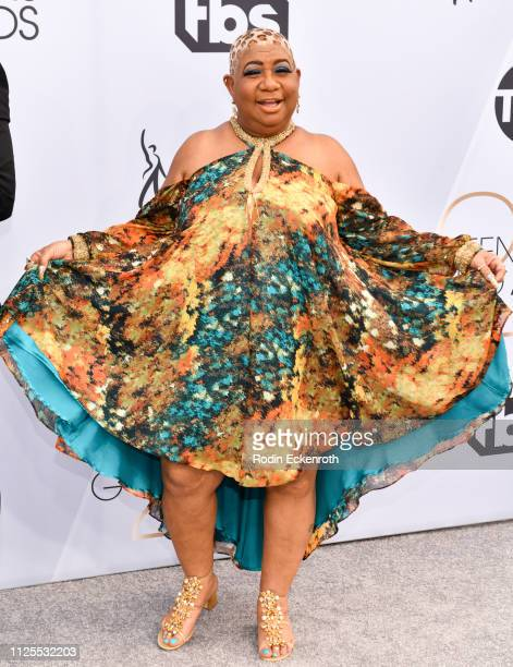 Luenell arrives at 25th Annual Screen ActorsGuild Awards at The Shrine Auditorium on January 27 2019 in Los Angeles California