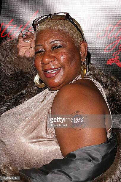 Luenell arrives at the Style Your Slim event presented by Slim Fast at Boulevard3 on January 8 2007 in Hollywood California