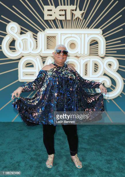 Luenell attends the 2019 Soul Train Awards presented by BET at the Orleans Arena on November 17 2019 in Las Vegas Nevada