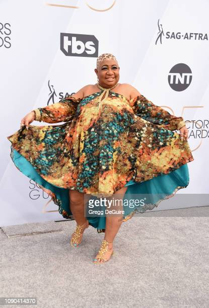 Luenell attends the 25th Annual Screen ActorsGuild Awards at The Shrine Auditorium on January 27 2019 in Los Angeles California 480645