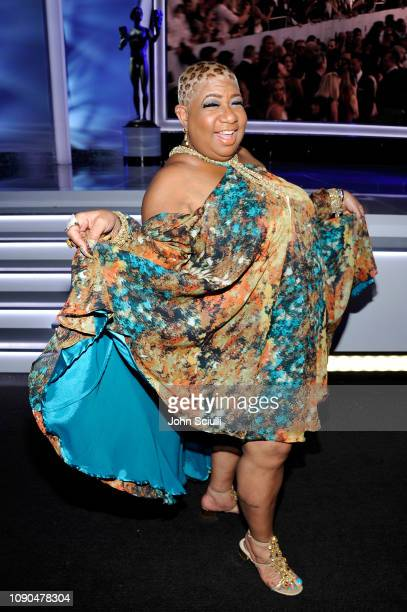 Luenell attends the 25th Annual Screen ActorsGuild Awards at The Shrine Auditorium on January 27 2019 in Los Angeles California 480720