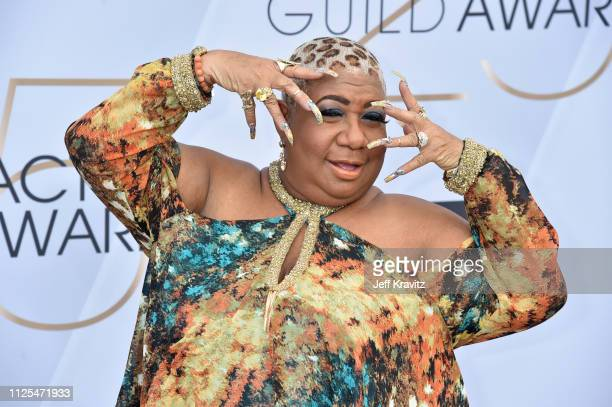 Luenell attends the 25th Annual Screen ActorsGuild Awards at The Shrine Auditorium on January 27 2019 in Los Angeles California