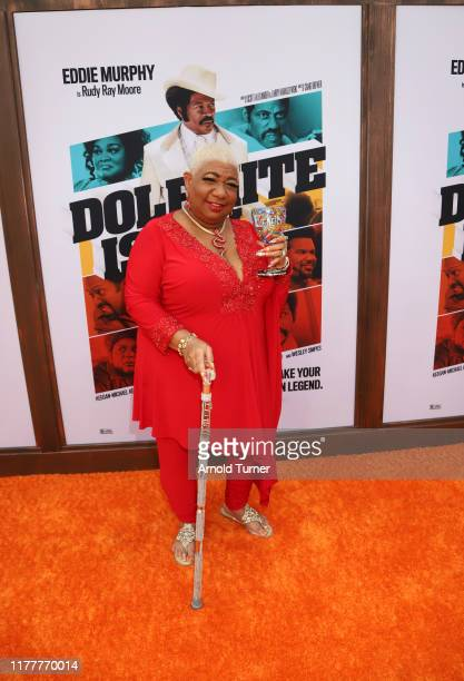 Luenell attends the Dolemite Is My Name premiere presented by Netflix on September 28 2019 in Los Angeles California