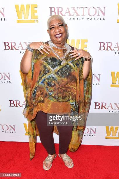 "Luenell is seen as We TV celebrates the premiere of ""Braxton Family Values"" at Doheny Room on April 02, 2019 in West Hollywood, California."