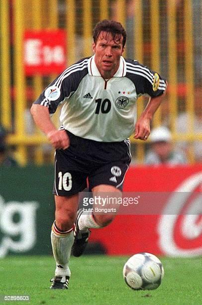 EURO 2000 Luettich DEUTSCHLAND RUMAENIEN 11 Lothar MATTHAEUS/GER