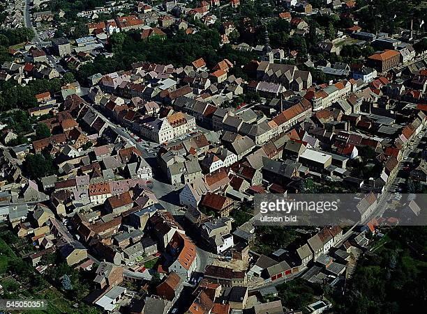 Luftaufnahme der Altstadt- 1993