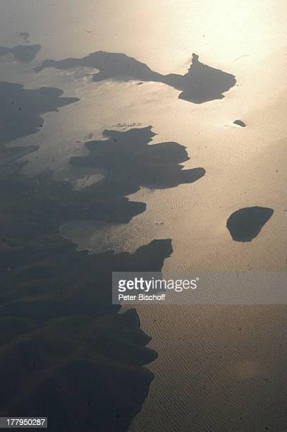 Luftaufnahme kleine Inseln bei Insel Kos Griechenland Europa Meer Mittelmeer Reise