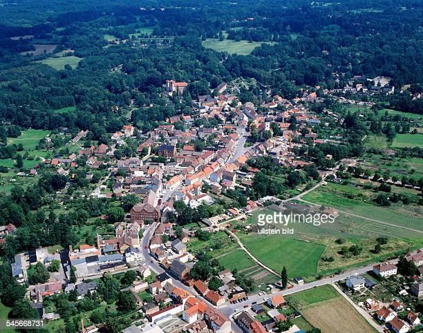 Luftaufnahme von Lübbenau- Juli 1998