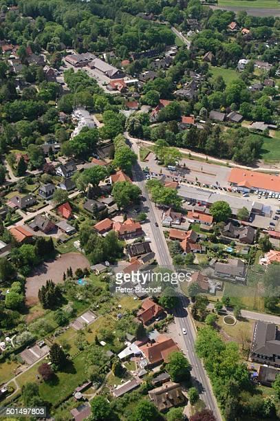 Luftaufnahme Worpswede Teufelsmoor Niedersachsen Deutschland Europa Künstlerdorf Künstlerkolonie Wohnsiedlung Reise BB DIG PNr 866/2008