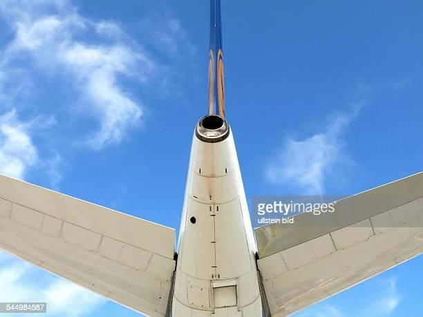 Lufthansa Airbus A340 tail