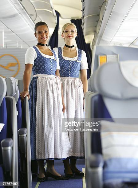 Blaudruck Dirndl Stock Photos and Pictures | Getty Images