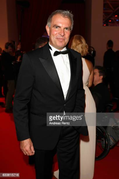 Lufthansa CEO Carsten Spohr attends the German Sports Gala 'Ball des Sports 2017' on February 4 2017 in Wiesbaden Germany