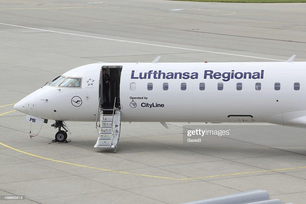 Lufthansa Cityline Bombardier Crj 700 Regional Aircraft