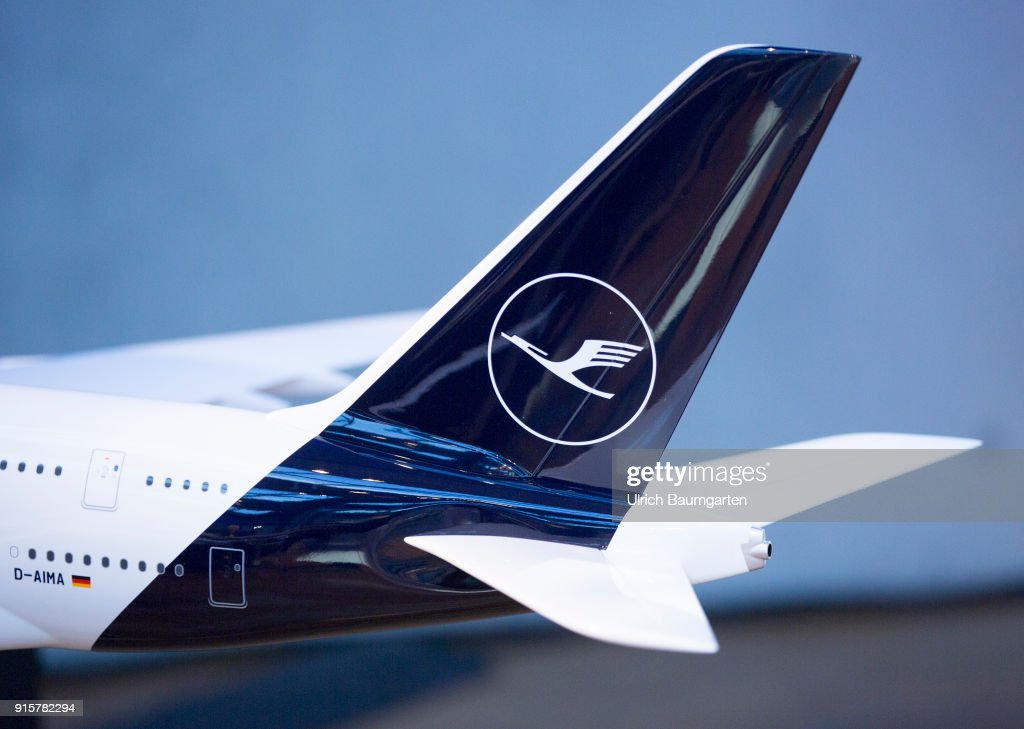 Lufthansa Group event to present the new blue livery on an ...