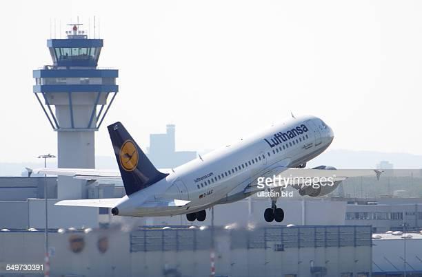 LufthansaAirbus auf dem Flughafen Köln/Bonn
