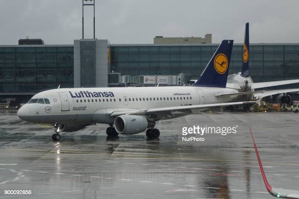 Lufthansa's fleet as seen in Frankfurt Airport in Germany the primary hub for the airline Lufthansa is the world's 10th largest airline by passengers...