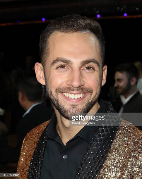 Luger Chris Mazdzer poses at ABC's 'Dancing with the Stars Athletes' Season 26 Finale on May 21 2018 in Los Angeles California