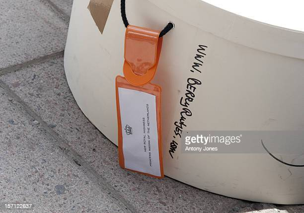 Luggage Arrives At The Grand Hotel Before The Wedding Of Crown Princess Victoria Of Sweden And Daniel Westling In Stockholm Sweden