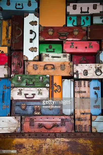 Luggage display, Bavaro, Punta Cana Region, Dominican Republic