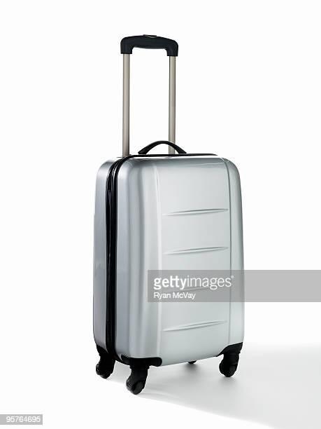 luggage on white